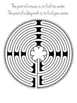 Virtual Finger Labyrinth Walk