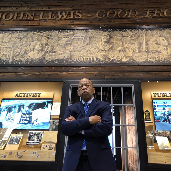 """John Lewis: Good Trouble"" film screening"