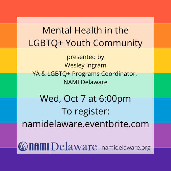Mental Health in the LGBTQ+ Youth Community