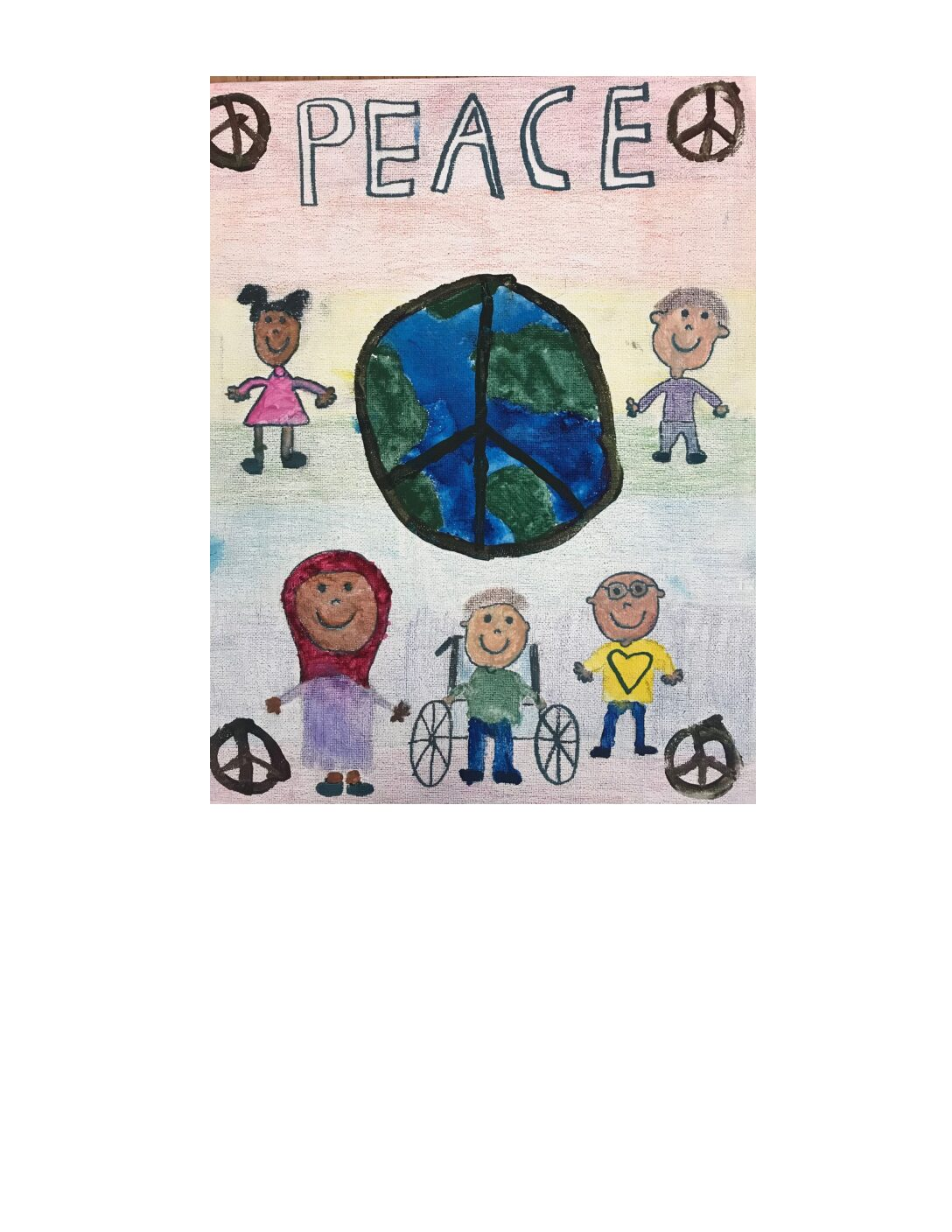 Visionary Peace Youth Art exhibit