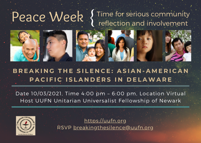 Breaking the Silence: Asian-American Pacific Islanders in Delaware