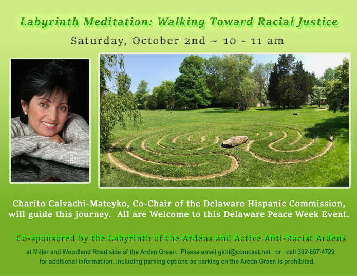 Labyrinth Meditation:  Walking Towards Racial Justice